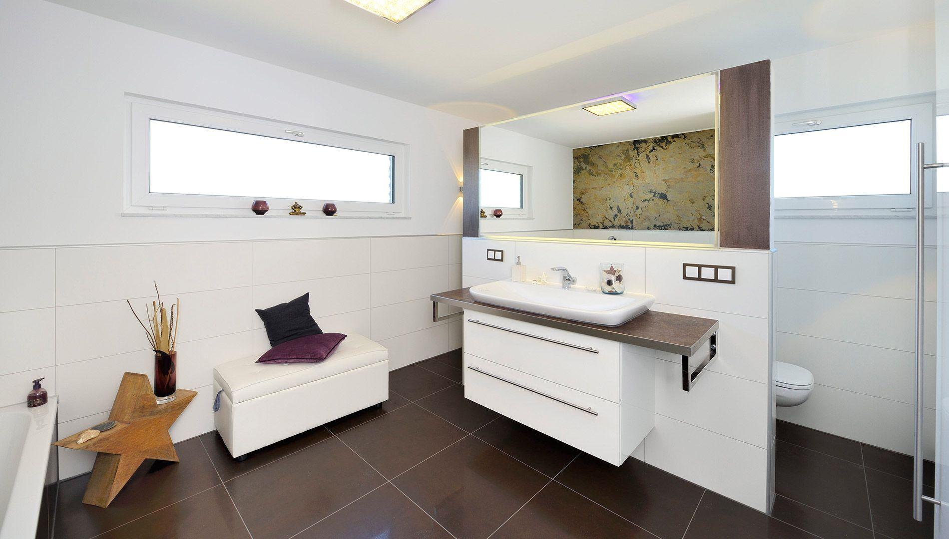 Badezimmer - Badewanne - ebenerdige Dusche - Stern ...