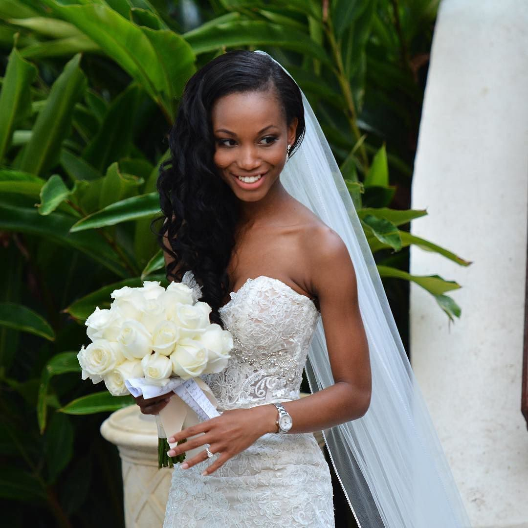 A New Life Hartz Curly Wedding Hairstyle: I LOVE BLACK WOMEN (MY HEART AND