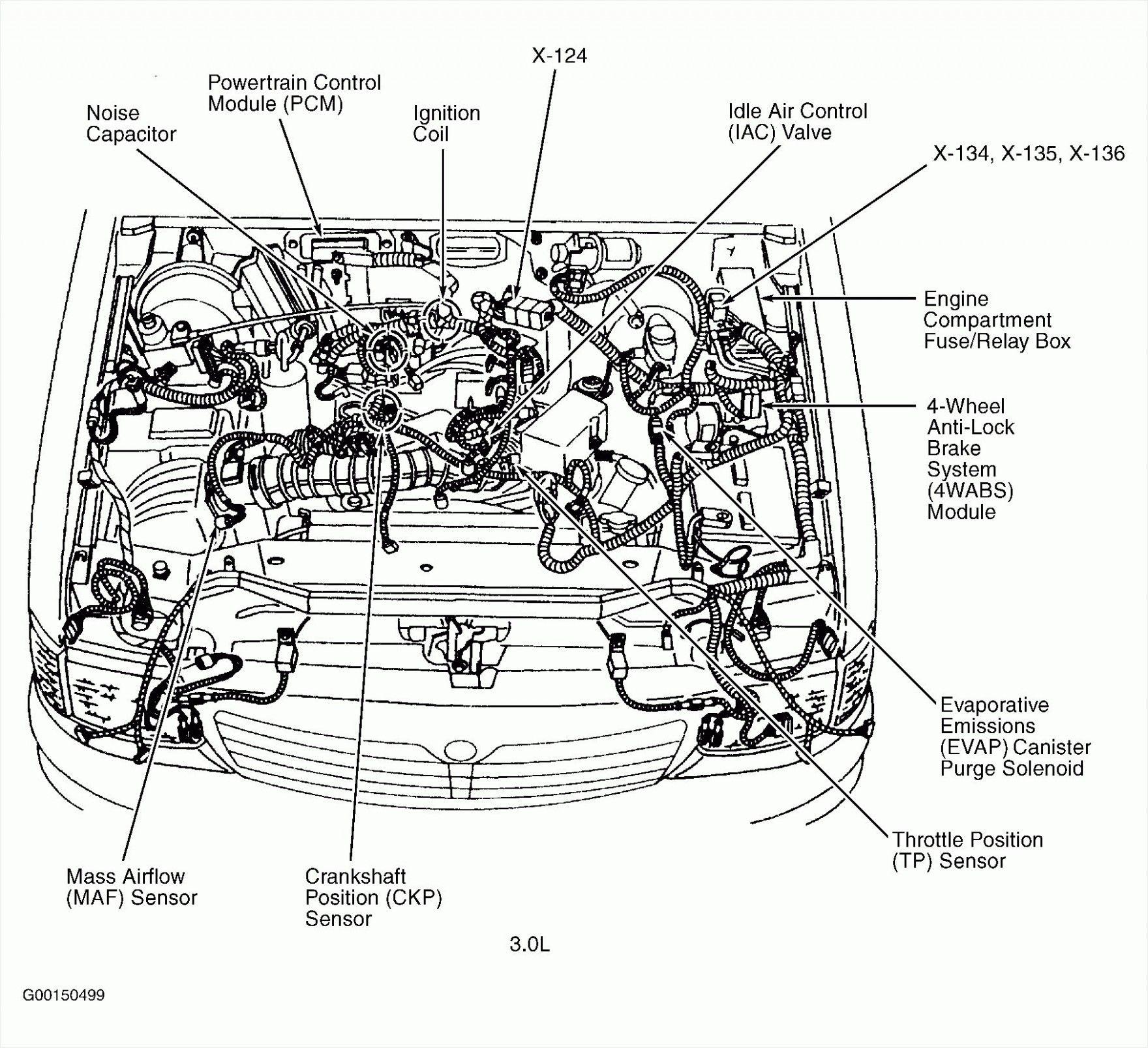 engine bay diagram of 1994 gmc