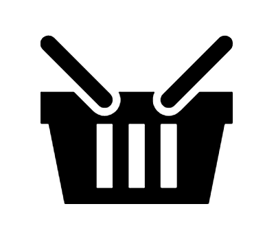 Shopping Basket Icon In Android Style This Shopping Basket Icon Has Android Kitkat Style If You Use The Icons For Android A Icon Shopping Basket Android Icons