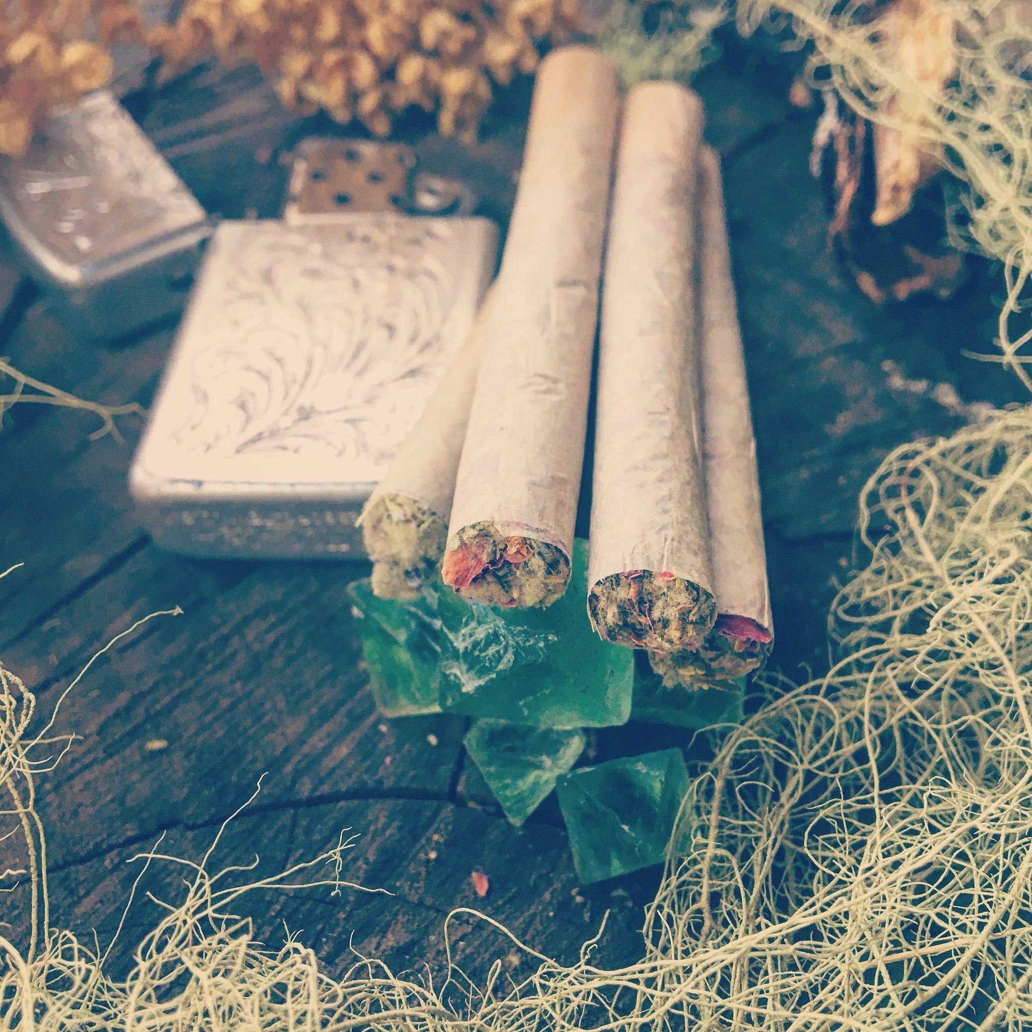 Aphrodite Herbal Pre-roll Cigarettes #witch #handmade #diy