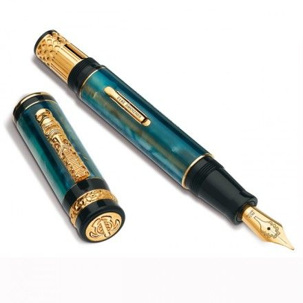 AKORD Luxury Chinese House Calligraphy Fountain Pen
