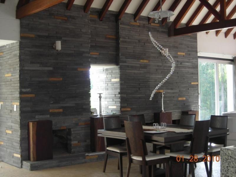 Galeria de fotos de pisos exteriores e interiores y - Revestimientos exteriores para fachadas ...
