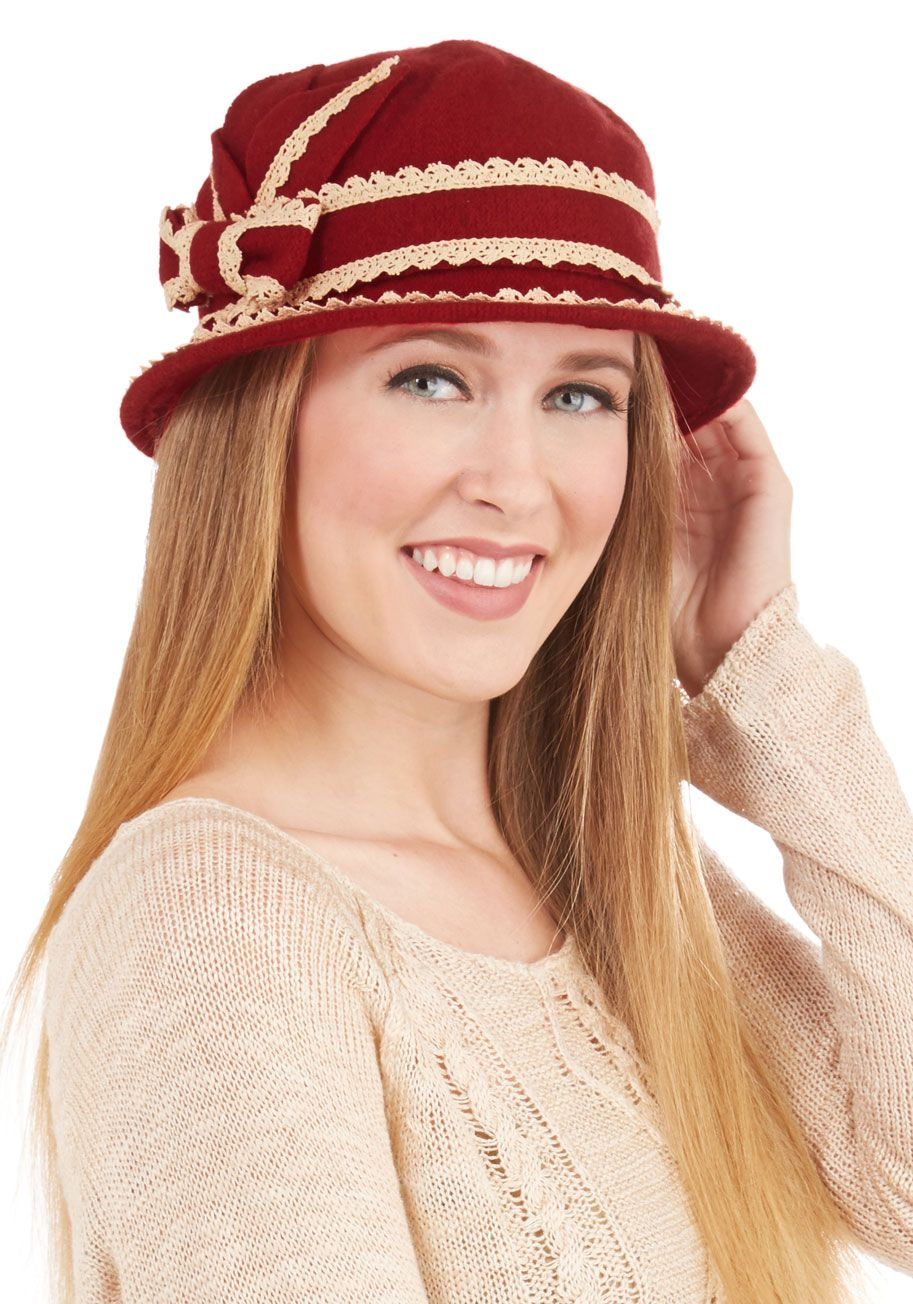 f91e27932e5 Floating on Era Hat in Crimson. Channel the elegance and grace of ...