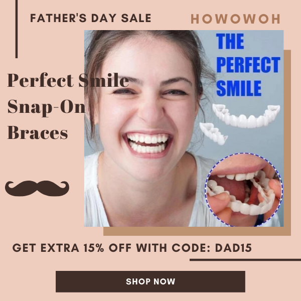 Perfect Smile SnapOn Braces in 2020 Perfect smile