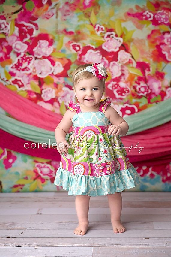 Amy S Buttons And Bows The Caralee Flutter Dress For