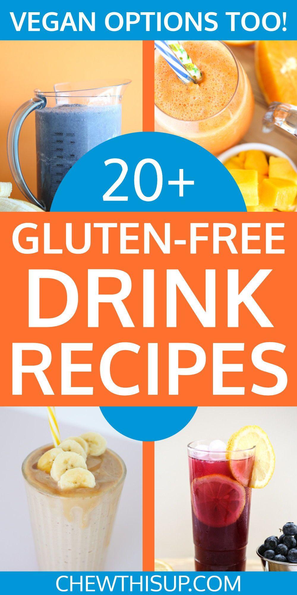 Drinks Gluten free alcohol, Gluten free smoothie, Gluten