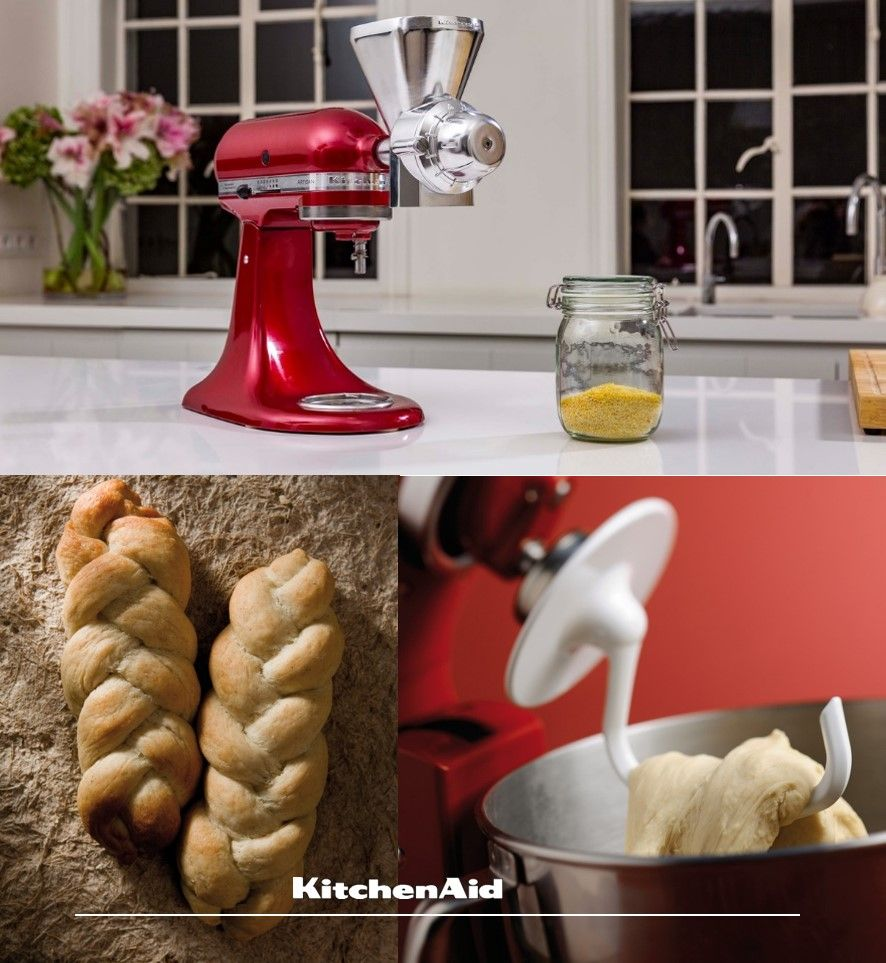 Few smells rival that of freshly baked bread using the