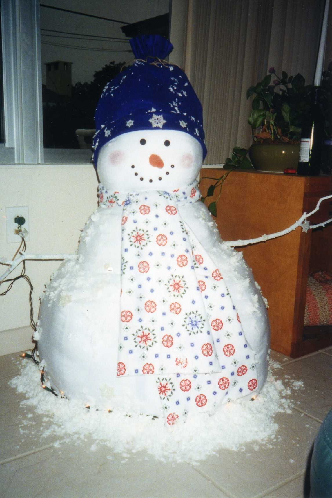 Life Size Snowman My Creations Christmas Crafts