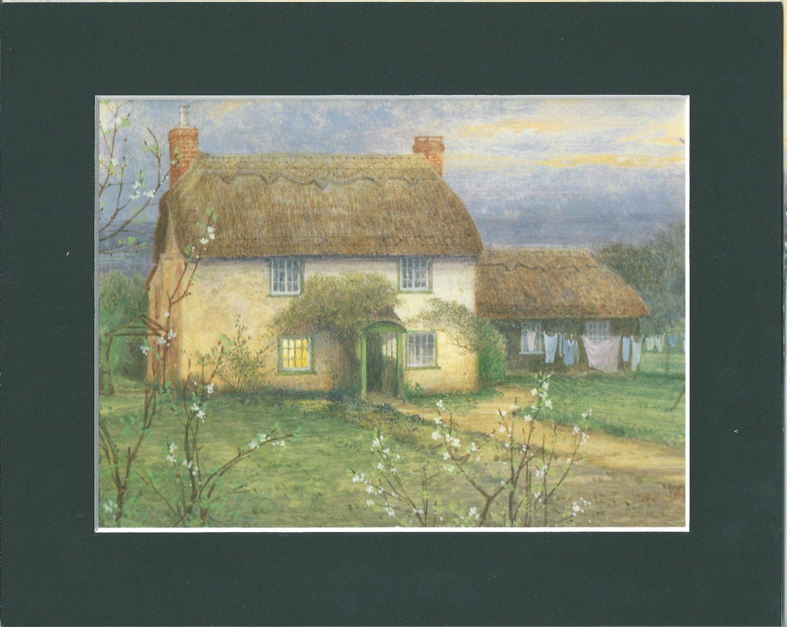http://www.ebay.co.uk/itm/Gordon-BENINGFIELD-Village-Print-in-Mount-COTTAGE-AT-BRAMSHAW-/371214697885
