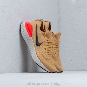 official photos f69c4 50d00 Nike epic react flyknit 2   Club Gold Black Red Orbit Metallic Gold