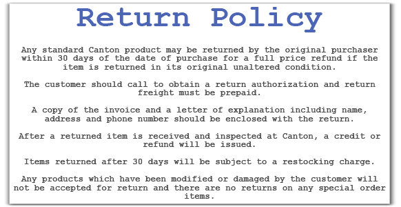 Return Policy Template 2 Policy Template Letter Templates Templates
