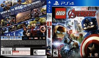 Lego Marvel Avengers Cover Game Ps4 With Images