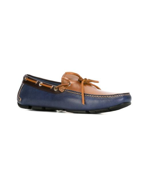 9773f73e66 Men's Blue Square Toe Boat Shoes | Clothes&Style | Boat Shoes, Blue ...