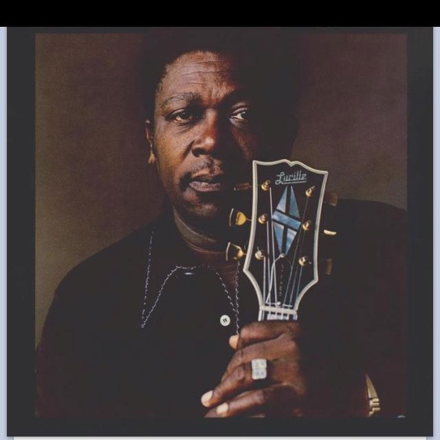 Growing up in Blues Country, of course I love BB King!