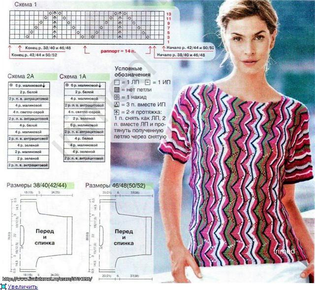Миссони схемы вязание