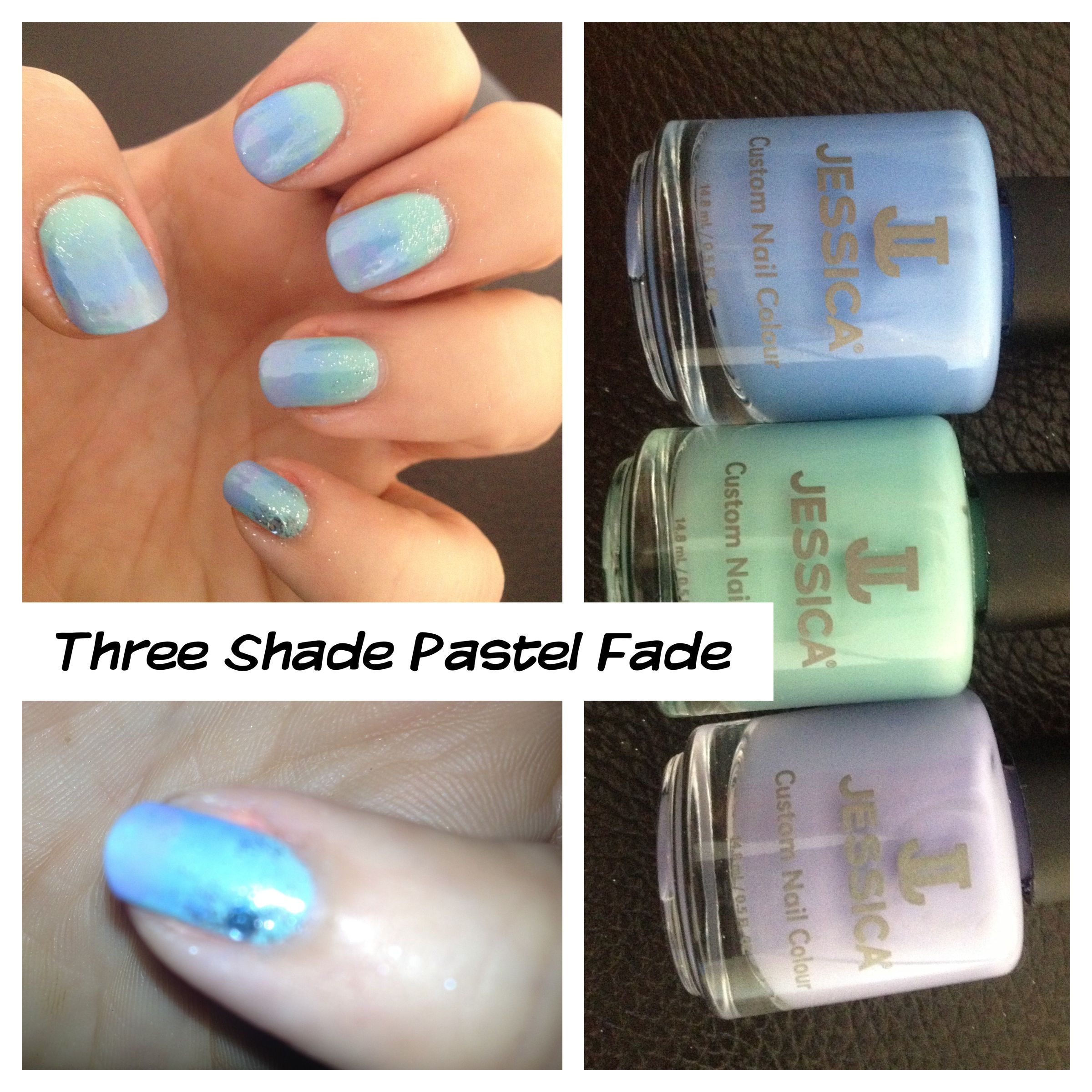 Three Shade Pastel Fade; make sure you book additional time for ...