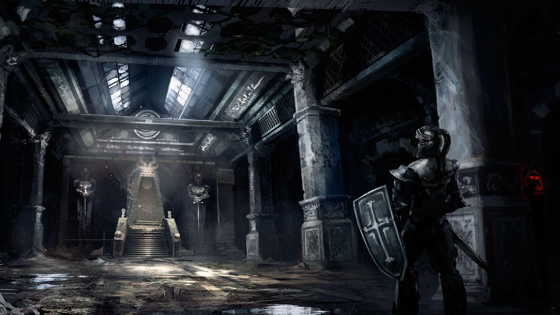 Evil kings throne room - Throne Room
