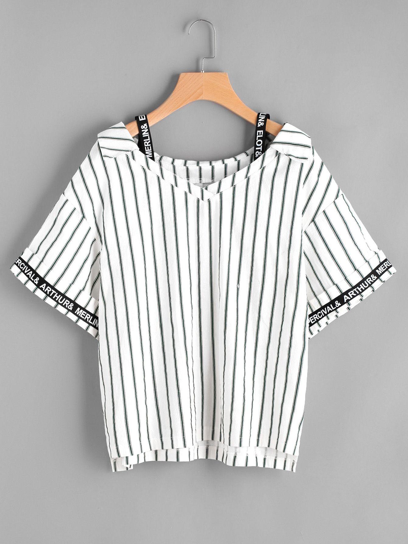 c6fc9f2cbe1 Percival & Merlin & Arthur | Clothes | Tops, Fashion, Fashion tape