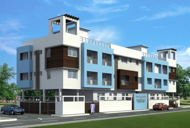 Residential Building Design by Leading Architects In Chennai Source : http://www.offcentered.in/blog/