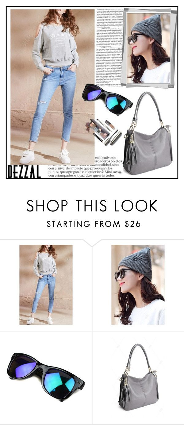 """Dresslily - Dezzal 11"" by elma-993 ❤ liked on Polyvore featuring POL and Laura Mercier"