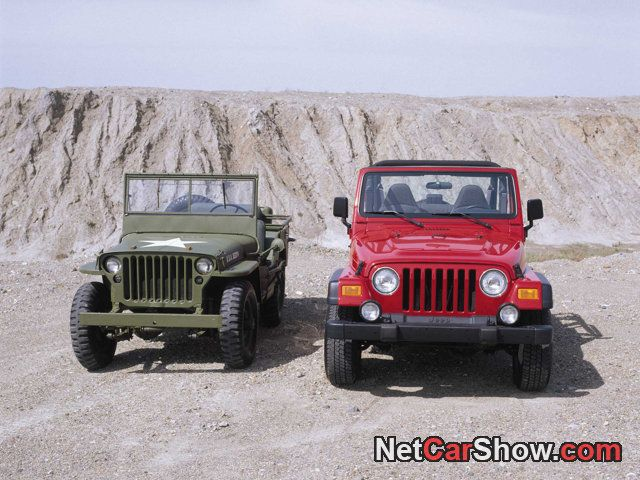 Size Comparison Willys Vs Tj Willys Mb Willys Jeep Military Jeep