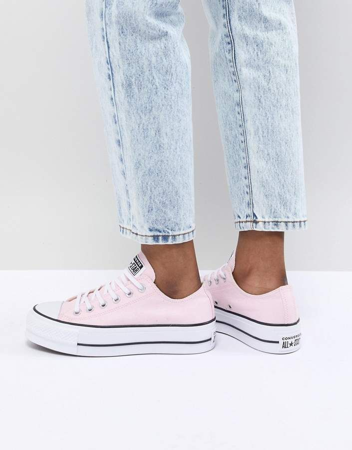 76d140a5e927 Converse Chuck Taylor All Star Platform Sneakers In Pink in 2019 ...