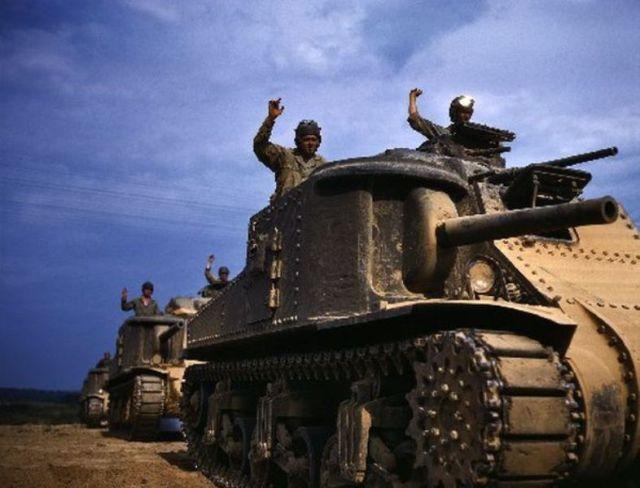 World War 2 In Colour 037 Tank American Tank World Of Tanks