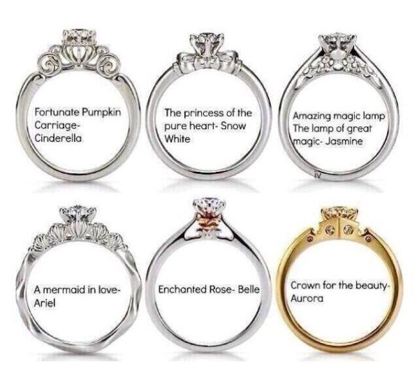 Disney Themed Wedding Rings Disney Engagement Rings Disney