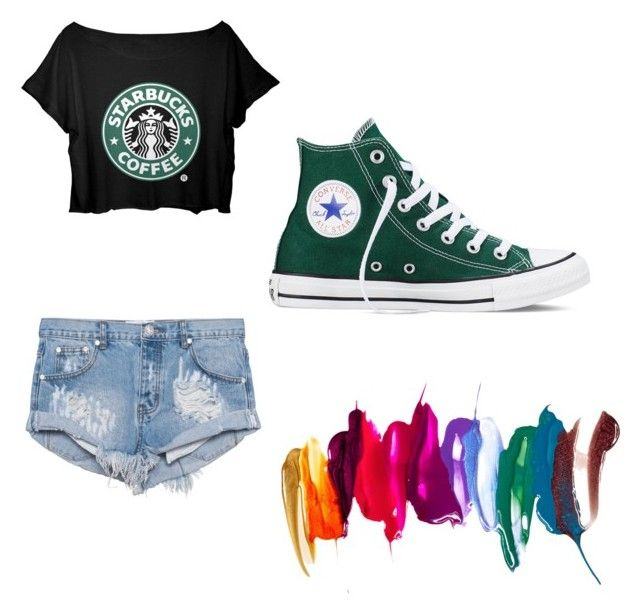 """""""Starbucks"""" by nickibrian on Polyvore"""