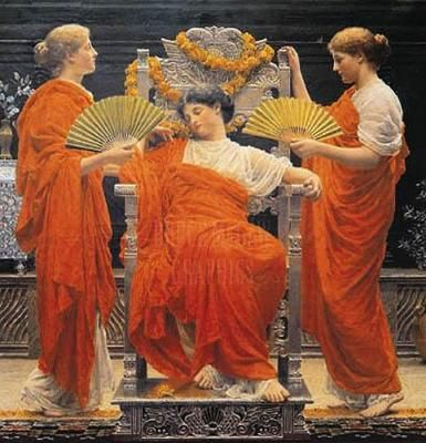 Midsummer by Albert Moore - Russell-Cotes Museum, Bournemouth