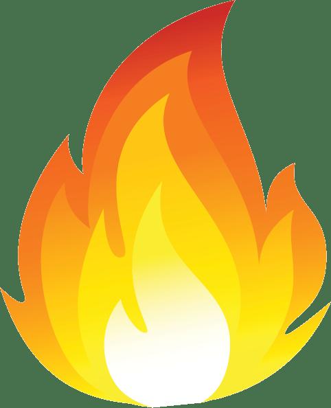 Cartoon Fire Flames Fire Image Church Banners Clip Art