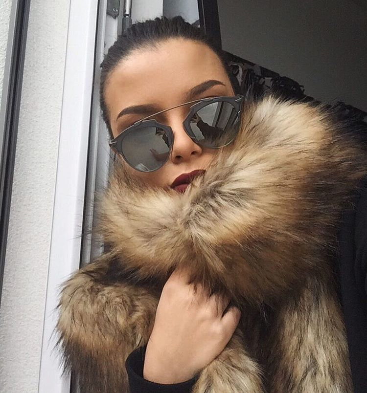 Ive always Wanted a Fur Coat in my Closet a Dream come True.