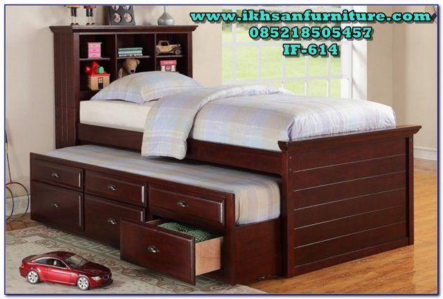 Tempat Tidur Sorong Murah Minimalis Terbaru If 614 Tempat Tidur