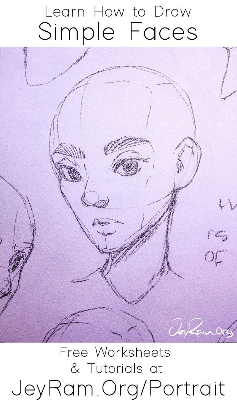 How To Draw Faces Tutorial Series In 2020 Drawing Tutorial Face Drawing Tutorial Drawing Tutorials For Beginners