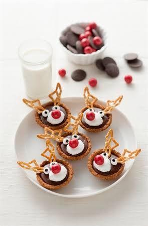 Reindeer Biscuits Arrowroot Google Search Christmas Ideas