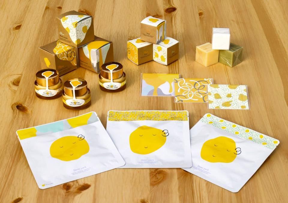 goen°が手がけた、「化粧品ブランド「mitsubako」」(杉養蜂園)を紹介します。