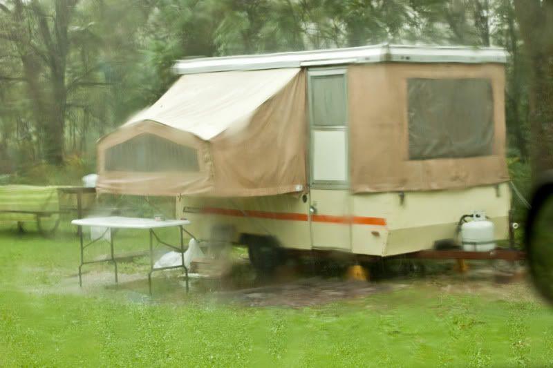 Day 133 Homemade Salsa Pop Up Tent Trailer Pop Up Camper Pop