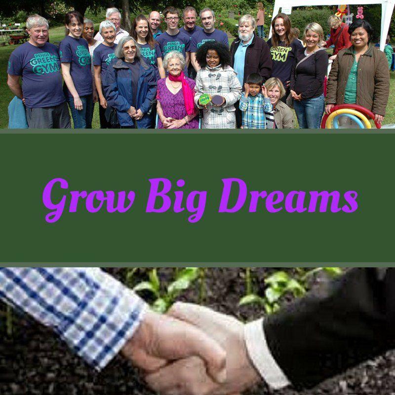 "Penge Green Gym on Twitter: ""Grow Big Dreams https://t.co/j7y3fVhsaS"""