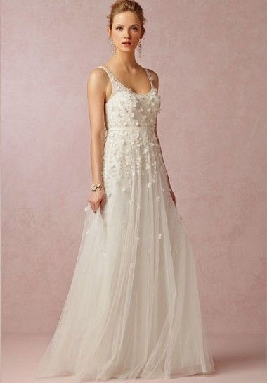 82eebda79e7 We adore the gorgeous detailing on this wedding gown!