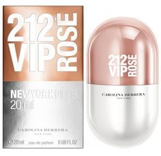 212 VIP Rose Pills Carolina Herrera for women. (2016
