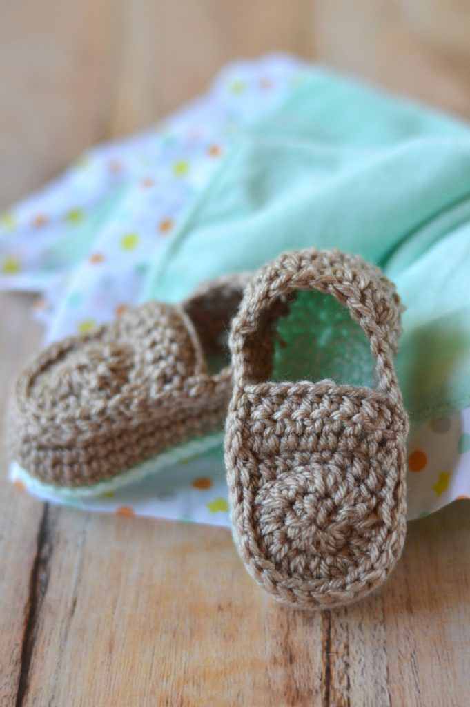 Crochet Baby Loafers Free Pattern Crochet Baby Free Pattern And