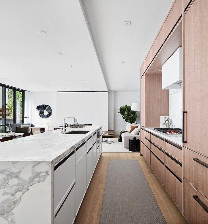 Best Modern Kitchen Minimal Kitchen White Kitchen Limed Oak 400 x 300
