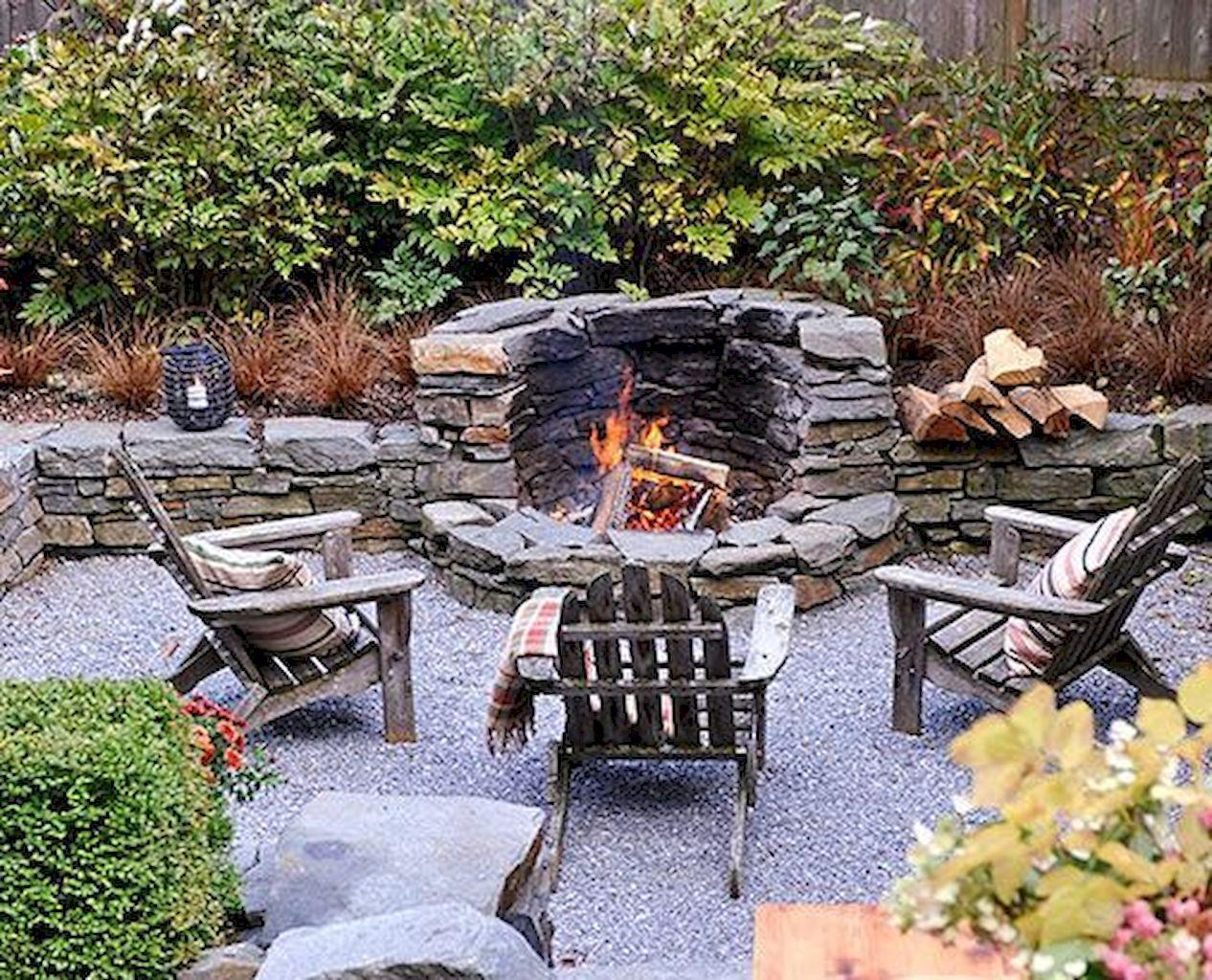 70 Finest Outside Fireplaces Desigen Concepts Fire Pit Backyard