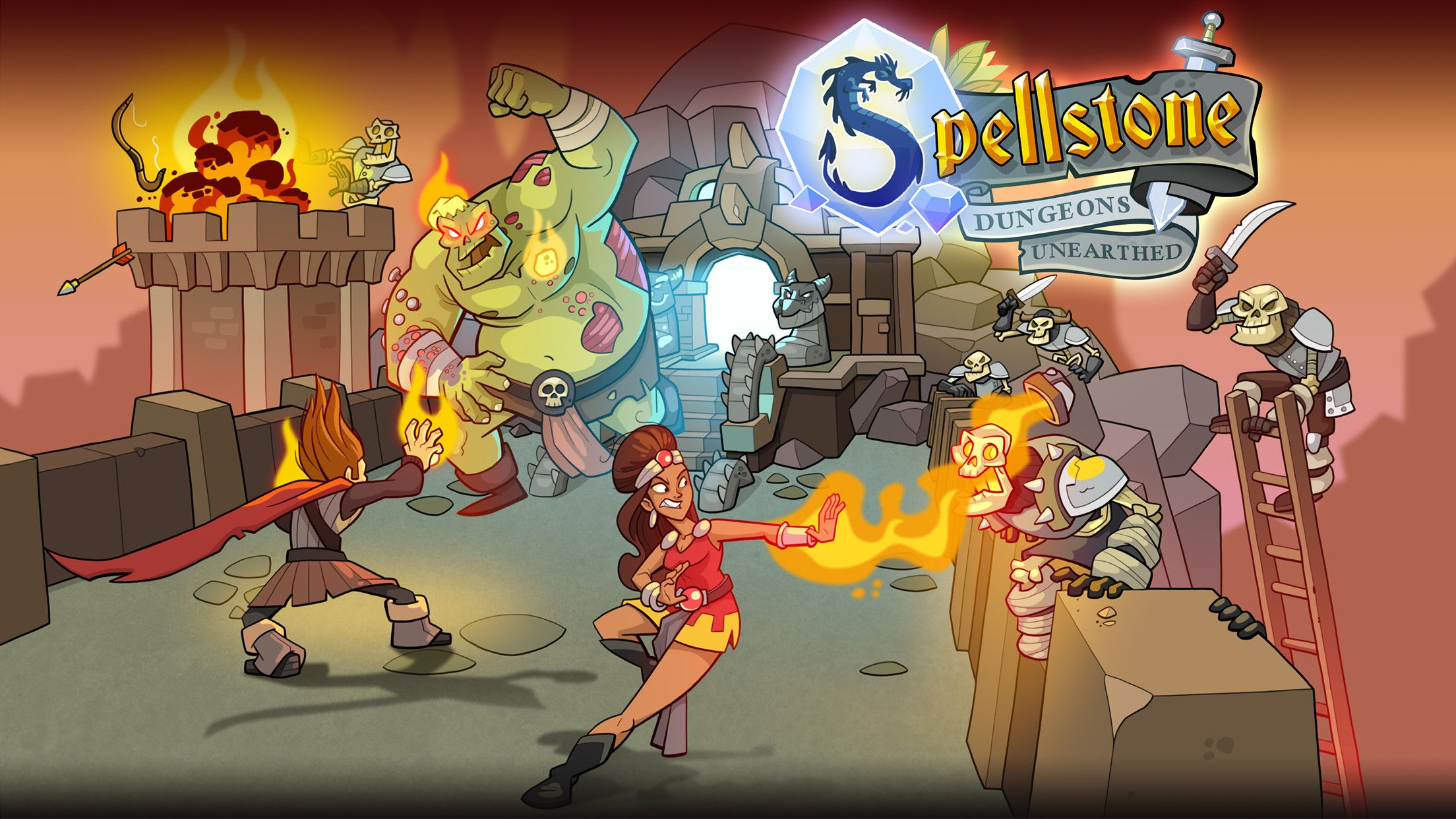 Fantasy Card Game Spellstone is out on Steam KeenGamer