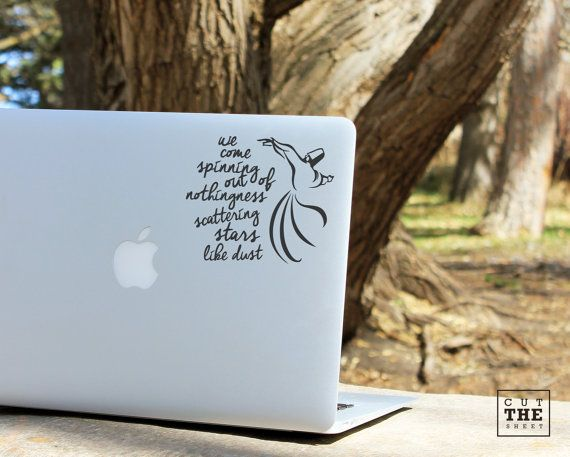 We Out Here Sticker Vinyl Decal Car Laptop Wall Macbook Bumper Stickers