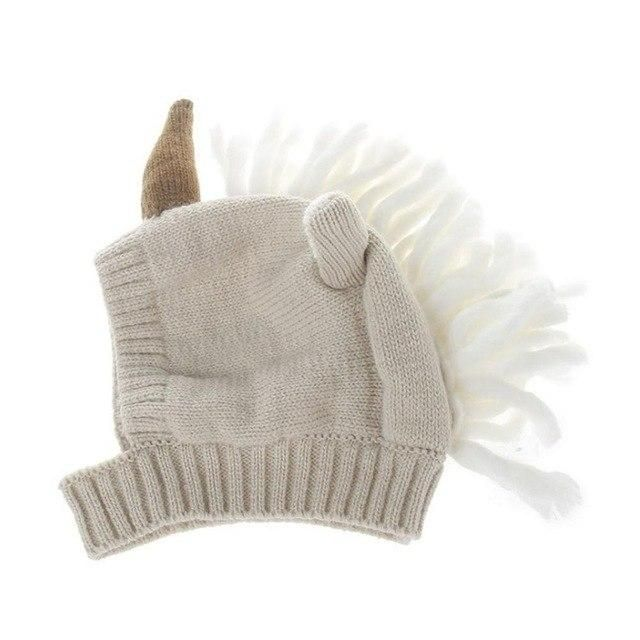 a8beb171b03 Baby Unicorn Hat - Winter Fashion Children s Wool Hat Unicorn Baby Outfit