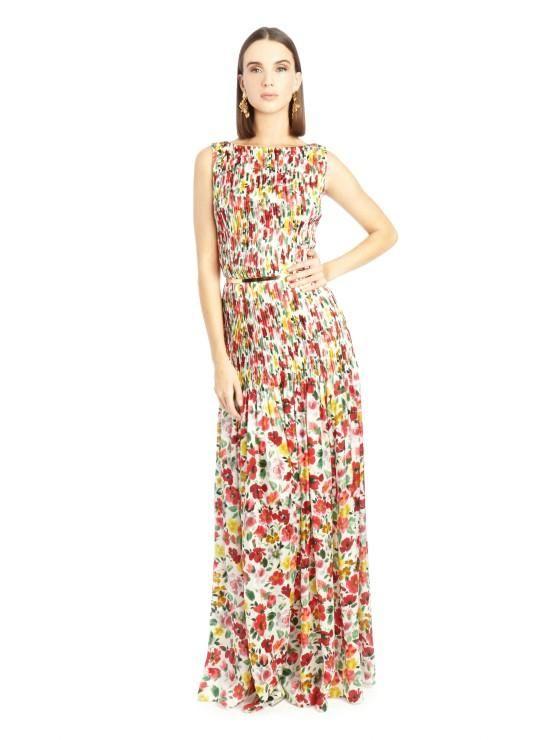 f3c024bf4 Los vestidos largos de la última colección de OScar de la Renta ...