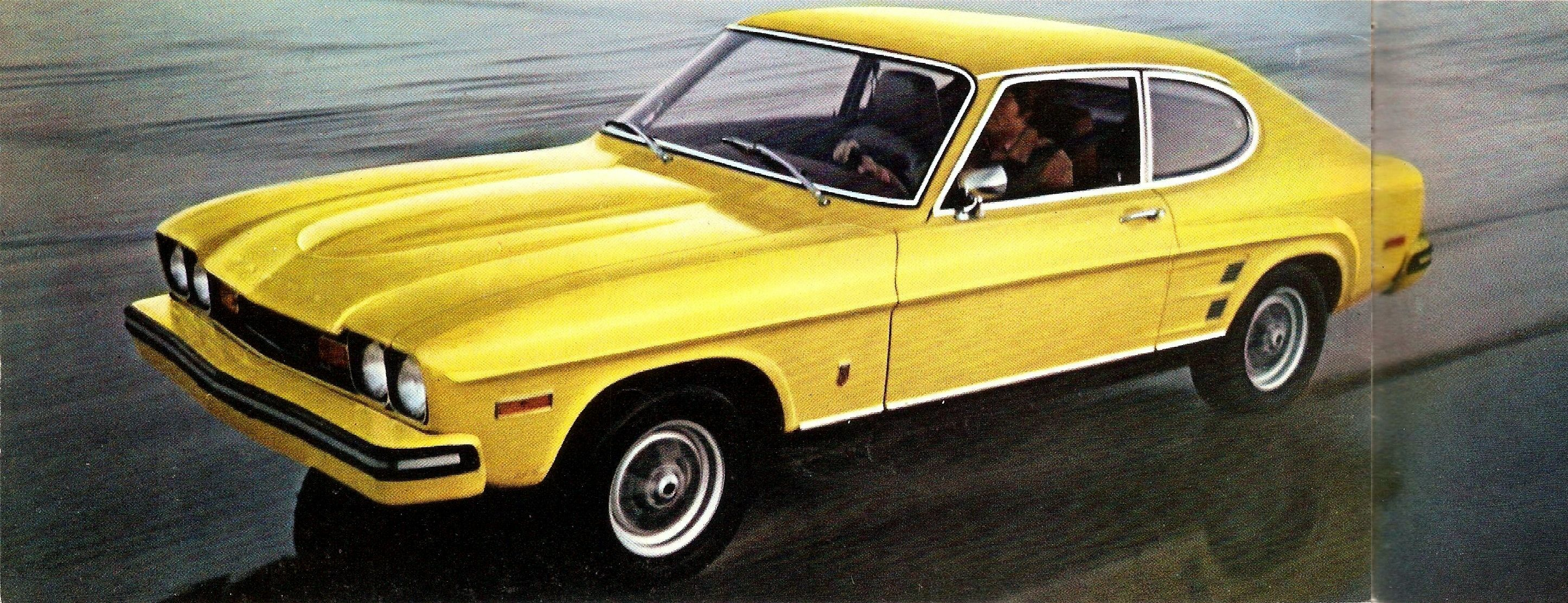 1973 Mercury Capri Get Yours Today At The Sign Of The Cat