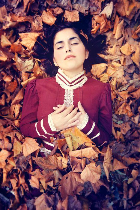 Model is Sevgi, Autumn 2011 - Sarah Ann Wright